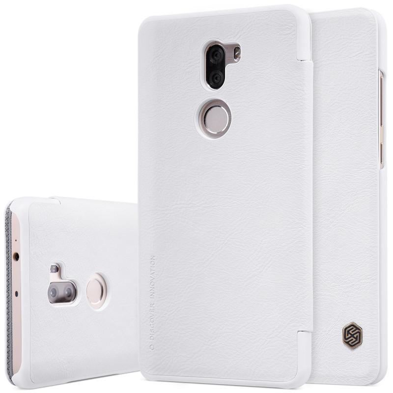 Чехол-книжка Nillkin QIN Leather Case для Xiaomi Mi5S Plus натуральная кожа белый