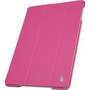 Чехол-книжка Jisoncase для Apple iPad Air/Air 2 (искусственная кожа с подставкой) розовый
