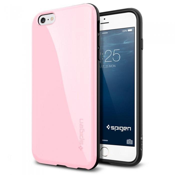Чехол-накладка Spigen Capella для Apple iPhone 6 Plus/6S Plus Pink (SGP11085)для iPhone 6 Plus/6S Plus<br>Чехол-накладка Spigen Capella для Apple iPhone 6 Plus/6S Plus Pink (SGP11085)<br>
