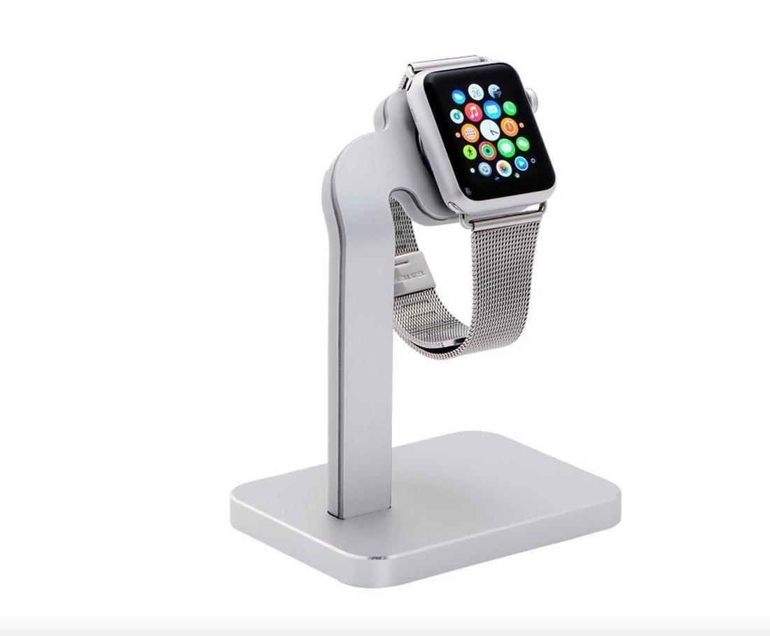 Док-станция COTEetCI Dock Base4 для Apple Watch 38mm / Watch 42mm (Silver) (CS2094-TS)
