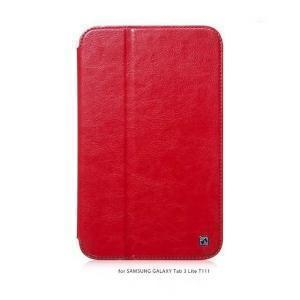 Чехол-книжка Hoco Crystal Series для Samsung Galaxy Tab 3 7.0 lite (T110/T111/T113/T116) красныйдля Samsung<br>Чехол-книжка Hoco Crystal Series для Samsung Galaxy Tab 3 7.0 lite (T110/T111/T113/T116) красный<br>