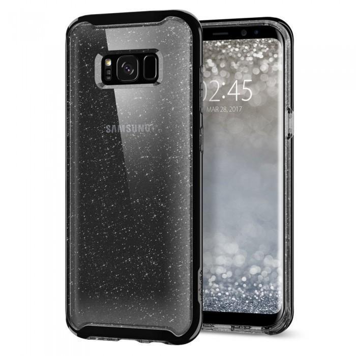 Чехол-накладка Spigen Neo Hybrid Crystal Glitter для Samsung Galaxy S8 space кварц (SGP 565CS21608)для Samsung<br>Чехол-накладка Spigen Neo Hybrid Crystal Glitter для Samsung Galaxy S8 space кварц (SGP 565CS21608)<br>