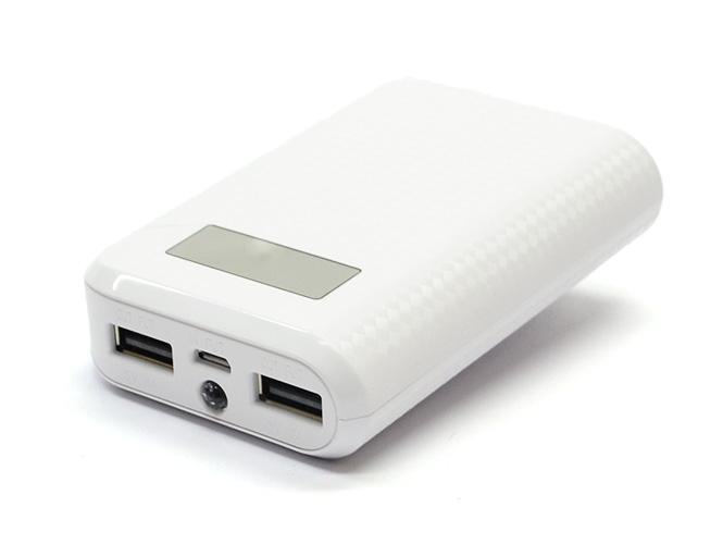 Универсальный внешний аккумулятор Remax Proda 10000 mAh 1 А/ 2.1 А, USBx2 пластик WhiteUSBx2<br>Универсальный внешний аккумулятор Remax Proda 10000 mAh 1 А/ 2.1 А, USBx2 пластик White<br>