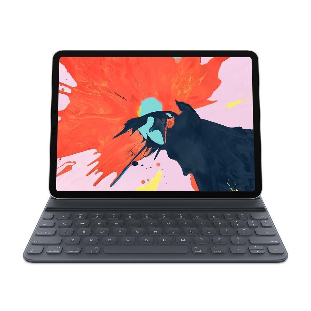 Клавиатура Apple Smart Keyboard Folio для iPad Pro 11 русская (нейлон с подставкой) (черный) (MU8G2) фото