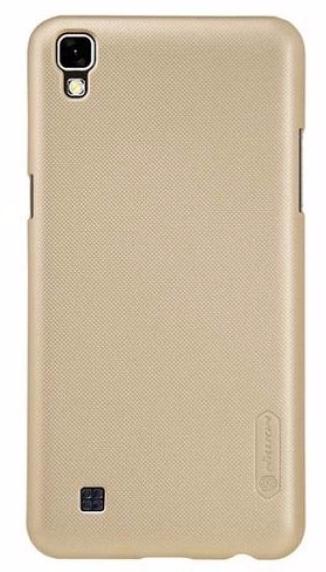 Чехол-накладка Nillkin Frosted Shield для LG X Power (K220DS) пластиковый золотой