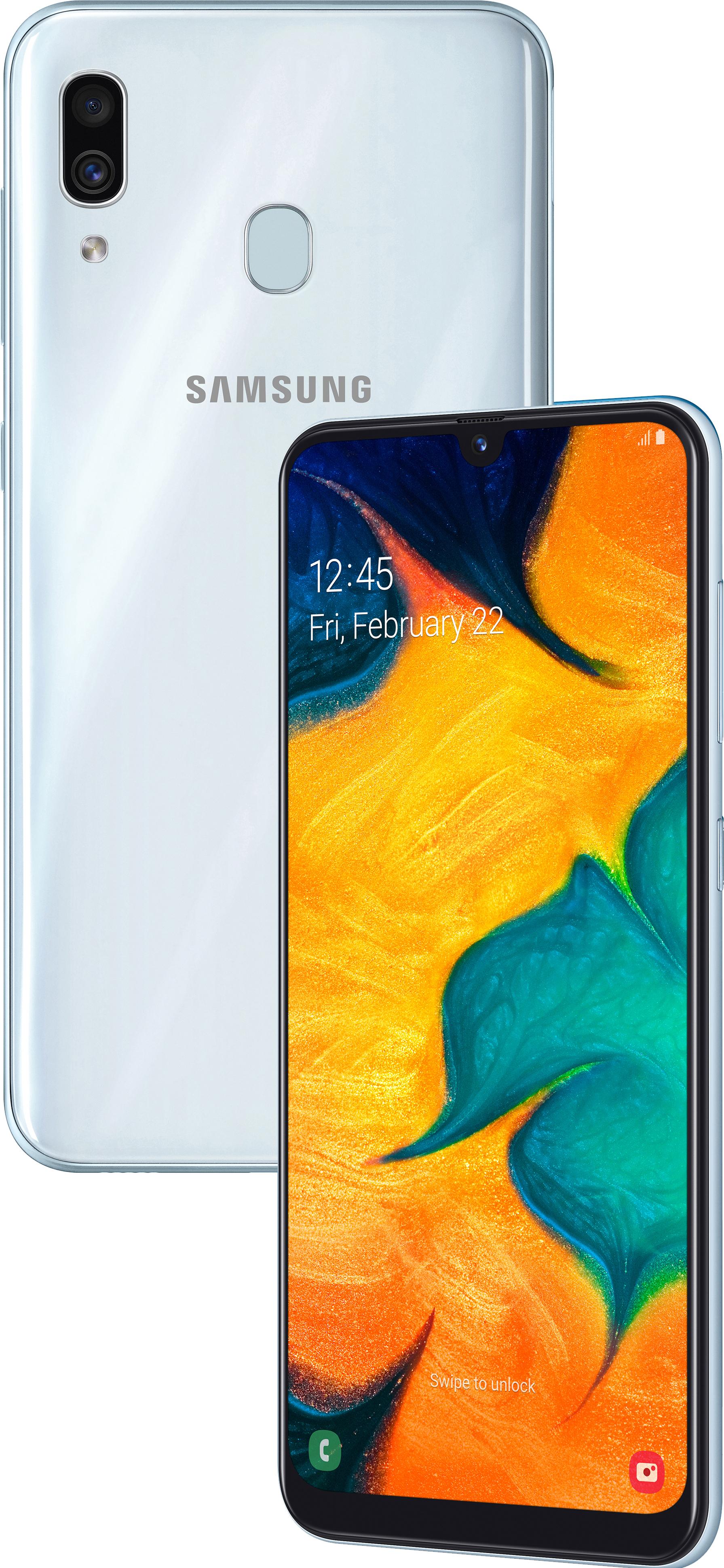 Samsung Galaxy A30 (2019) (SM-A305FN/DS) 32Gb White (SM-A305FZWUSER)