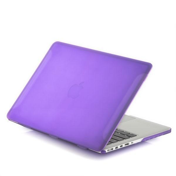 Чехол-накладка BTA-Workshop для Apple MacBook Pro Retina 15 матовая прозрачно-фиолетовая