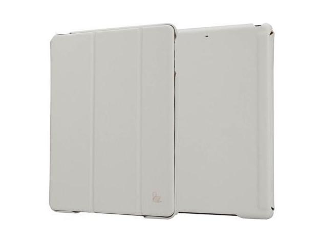 Купить Чехол-книжка JustCase Premium для Apple iPad Air (искусственная кожа с подставкой) светло-серый