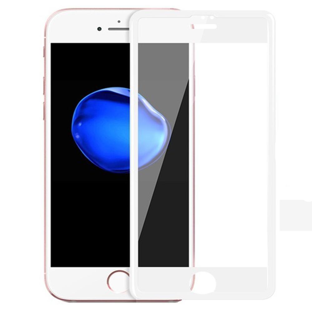 Защитное стекло Hoco Nano Film для Apple iPhone 7 усиленная рамка белый