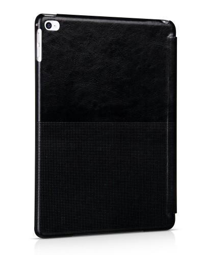 Чехол-книжка Hoco Fashion Series для Apple iPad Air 2 (искусственная кожа с подставкой) Blackдля Apple iPad Air 2<br>Чехол-книжка Hoco Fashion Series для Apple iPad Air 2 (искусственная кожа с подставкой) Black<br>