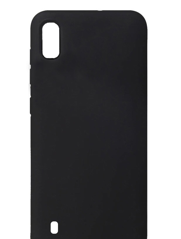 Чехол-накладка Cherry для Samsung Galaxy A10 силиконовый (черный)