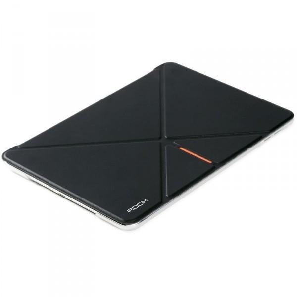 Чехол-книжка Rock DeVita Series для Apple iPad mini 4 (искусственная кожа с подставкой) черныйдля Apple iPad mini 4<br>Чехол-книжка Rock DeVita Series для Apple iPad mini 4 (искусственная кожа с подставкой) черный<br>
