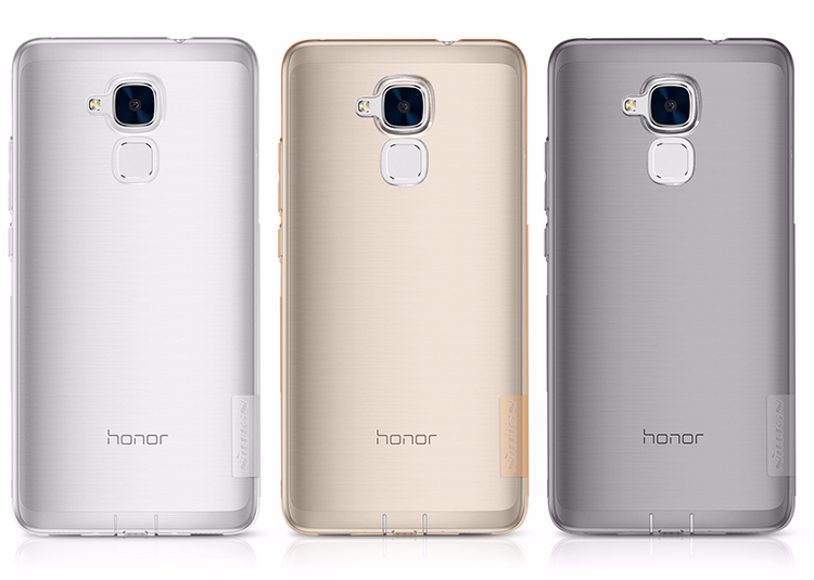 Чехол-накладка Nillkin Nature 0.6mm для Huawei Honor 5C силиконовый прозрачныйдля Huawei<br>Чехол-накладка Nillkin Nature 0.6mm для Huawei Honor 5C силиконовый прозрачный<br>