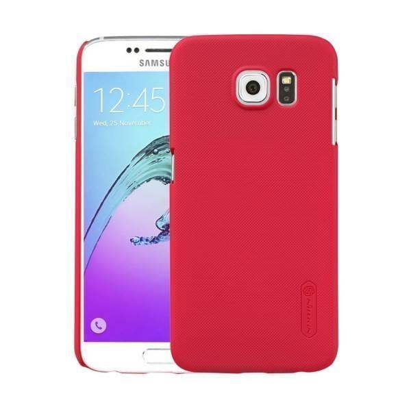 Чехол-накладка Nillkin Frosted Shield для Samsung Galaxy S6 (SM-G920) пластиковый красныйдля Samsung<br>Чехол-накладка Nillkin Frosted Shield для Samsung Galaxy S6 (SM-G920) пластиковый красный<br>