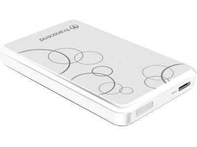 Внешний жесткий диск HDD  Transcend  1 TB  A3 Anti-Shock белый, 2.5, USB 3.0Жесткие диски<br>Внешний жесткий диск HDD  Transcend  1 TB  A3 Anti-Shock белый, 2.5, USB 3.0<br>