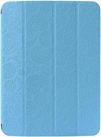 Чехол-книжка Gissar Paisley для Samsung Galaxy Tab 3 10.1 (P5200/P5210) натуральная кожа голубойдля Samsung<br>Чехол-книжка Gissar Paisley для Samsung Galaxy Tab 3 10.1 (P5200/P5210) натуральная кожа голубой<br>