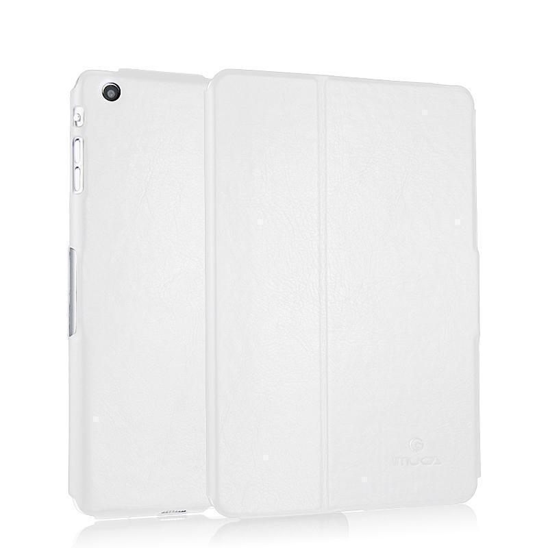 Чехол-книжка iMuca Diamond для Apple iPad mini 1/2/3 искусственная кожа (стеганый) (белый) фото
