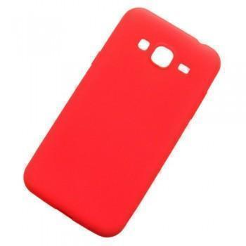 Чехол-накладка Cherry для Samsung Galaxy J5 J500 силиконовый матовый (красный) фото