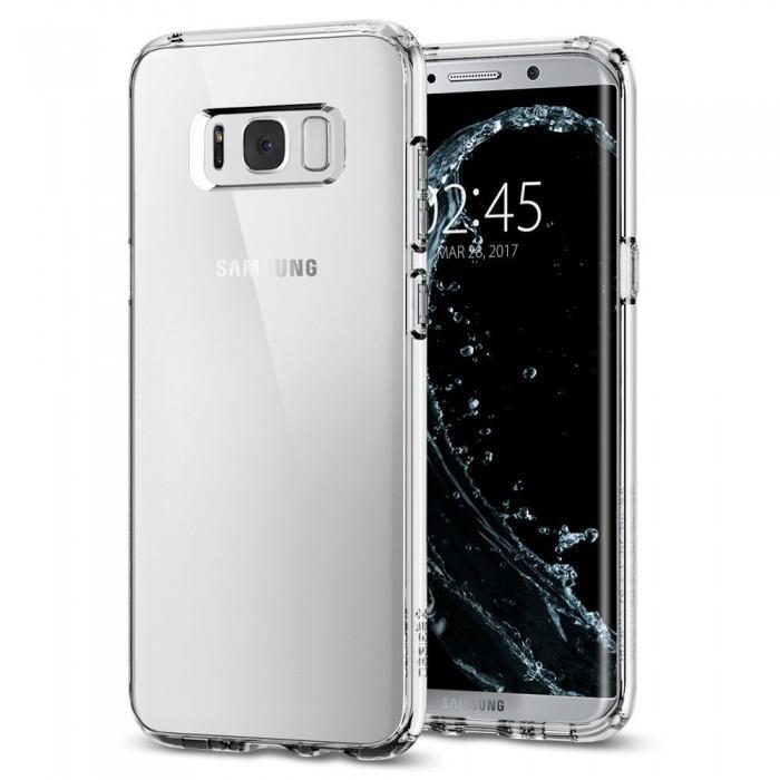 Чехол-накладка Spigen Ultra Hybrid для Samsung Galaxy S8 кристально-прозрачный (SGP 565CS21631)для Samsung<br>Чехол-накладка Spigen Ultra Hybrid для Samsung Galaxy S8 кристально-прозрачный (SGP 565CS21631)<br>