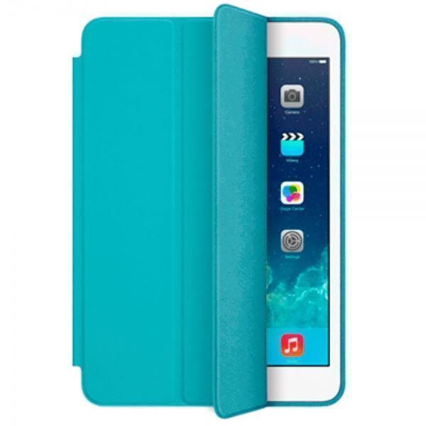 Чехол-книжка Smart Case для Apple iPad mini 4 (искусственная кожа с подставкой) голубой