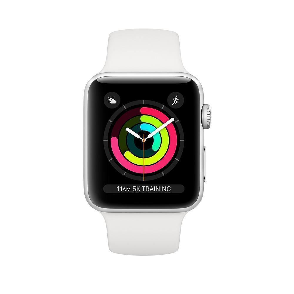 Купить Apple Watch Series 3 38mm Silver Aluminum Case обменные