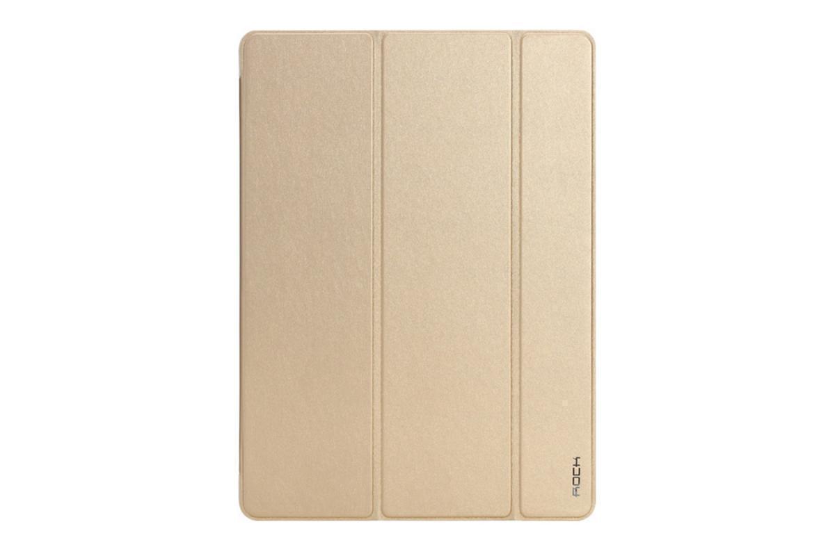 Чехол-книжка Rock Touch Series для Apple iPad (2017) (полиуретан+пластик) Goldдля Apple iPad (2017)<br>Чехол-книжка Rock Touch Series для Apple iPad (2017) (полиуретан+пластик) Gold<br>