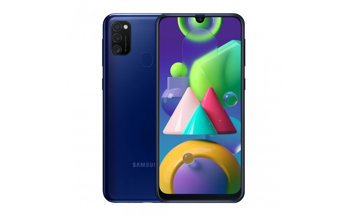 Samsung Galaxy M21 (SM-M215/DS) 64Gb (Blue) (SM-M215FZBUSER) фото