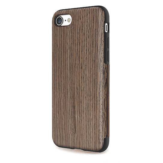 Чехол-накладка Rock Origin Series Wood для Apple iPhone 7 под дерево (Black Rose)