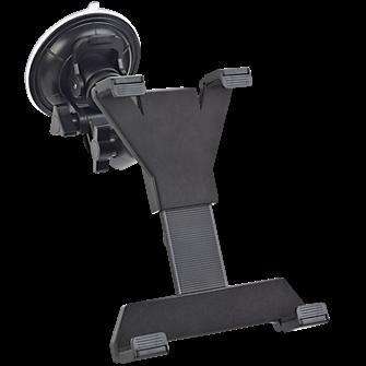 Автомобильный держатель для планшетов (7 - 10.1) Дюймов на стекло и подголовник черныйДержатель на подголовник<br>Автомобильный держатель для планшетов (7 - 10.1) Дюймов на стекло и подголовник черный<br>