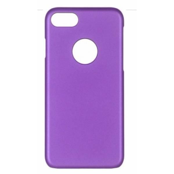 Чехол-накладка iCover Rubber для Apple iPhone 7/8 пластиковый матовый фиолетовый (IP7-RF-PP)для iPhone 7/8<br>Чехол-накладка iCover Rubber для Apple iPhone 7/8 пластиковый матовый фиолетовый (IP7-RF-PP)<br>
