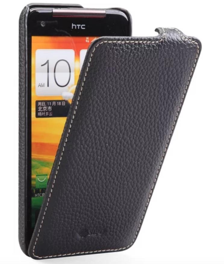 Чехол-книжка Melkco для HTC J Butterfly (HTL21) натуральная кожа черныйдля HTC<br>Чехол-книжка Melkco для HTC J Butterfly (HTL21) натуральная кожа черный<br>
