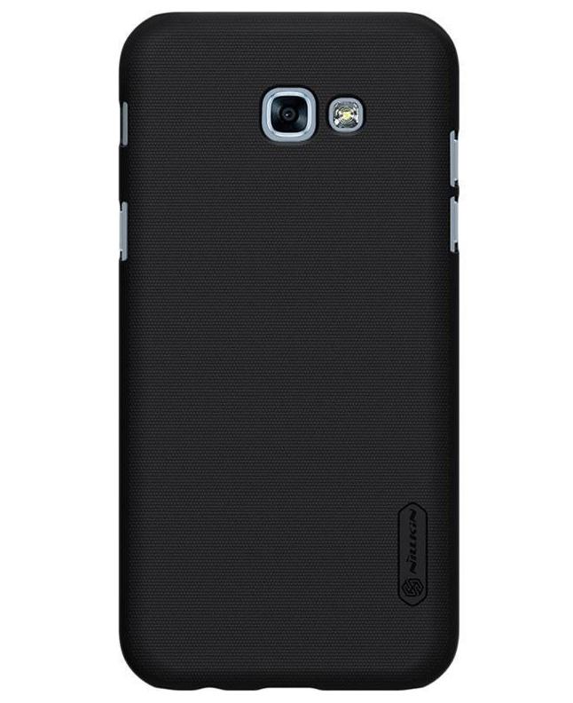 Купить Чехол-накладка Nillkin Frosted Shield для Samsung Galaxy A3 (2017) SM-A320 пластиковый (черный)