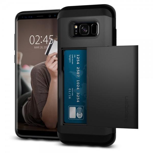 Чехол-накладка Spigen Slim Armor CS для Samsung Galaxy S8 (SGP 565CS21620) Черныйдля Samsung<br>Чехол-накладка Spigen Slim Armor CS для Samsung Galaxy S8 (SGP 565CS21620) Черный<br>
