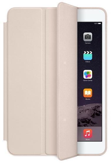 Чехол-книжка Apple Smart Case для Apple iPad mini 1/2/3 (натуральная кожа с подставкой) Soft Pink