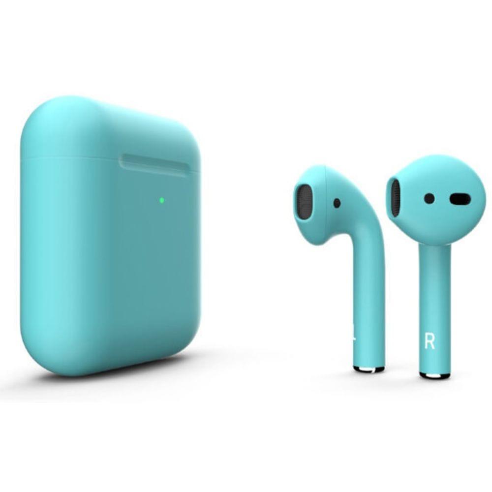Беспроводная гарнитура Apple AirPods 2 (Tiffany Blue)