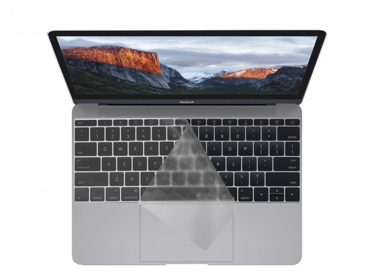 Накладка Devia Keypad Cover для клавиатуры на Apple MacBook 12/Pro 13 2016 (прозрачная)