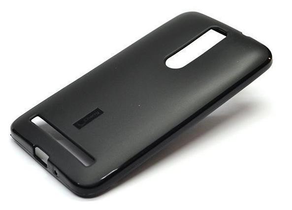 Чехол-накладка Cherry для Asus Zenfone 2 Laser (ZE601KL) силиконовый матовый (черный) фото