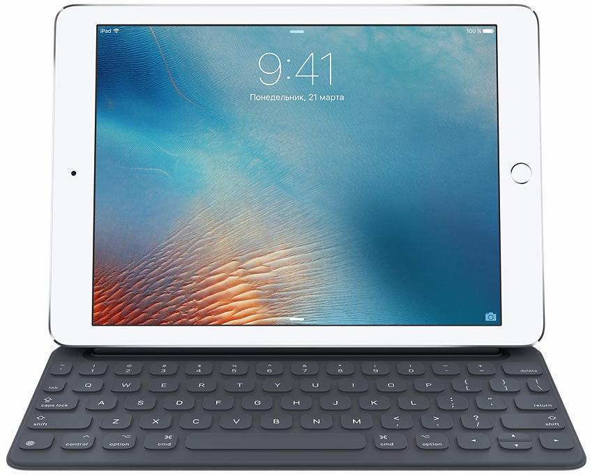 Купить со скидкой Чехол-клавиатура Apple Smart Keyboard для iPad Pro 9.7 русская (нейлон с подставкой) черный