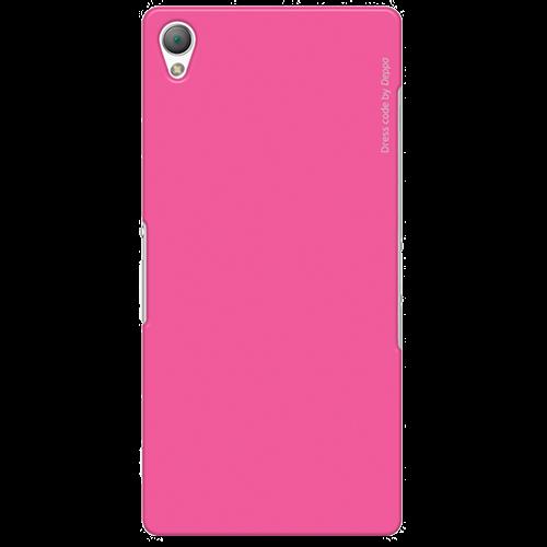 Чехол-накладка Deppa Air Case для Sony Xperia Z3 Plus / Z3 Plus Dual розовый + защитная пленкадля Sony<br>Чехол-накладка Deppa Air Case для Sony Xperia Z3 Plus / Z3 Plus Dual розовый + защитная пленка<br>