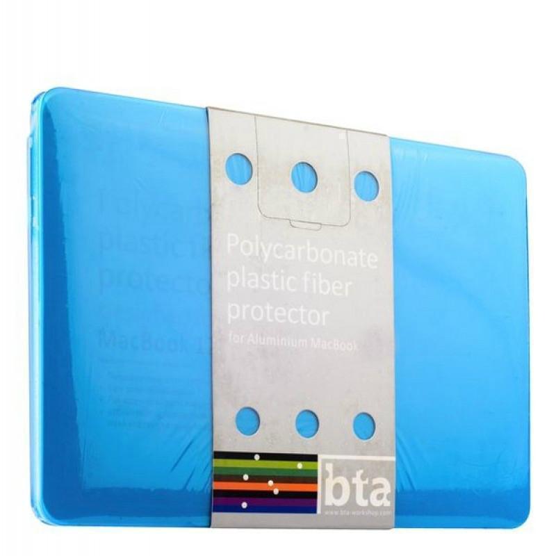 Чехол-накладка BTA-Workshop для Apple MacBook Pro 13 матовая прозрачно-синяядля Apple MacBook Pro 13<br>Чехол-накладка BTA-Workshop для Apple MacBook Pro 13 матовая прозрачно-синяя<br>