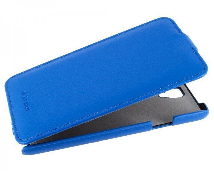 Чехол-книжка Armor Case для Samsung Galaxy Note 3 Neo (N7505) искусственная кожа голубойдля Samsung<br>Чехол-книжка Armor Case для Samsung Galaxy Note 3 Neo (N7505) искусственная кожа голубой<br>