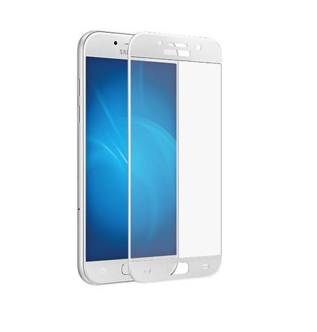 Защитное стекло Glass PRO (Full) Screen для Samsung Galaxy A3 (2017) A320 цветное белая рамкадля Samsung<br>Защитное стекло Glass PRO (Full) Screen для Samsung Galaxy A3 (2017) A320 цветное белая рамка<br>