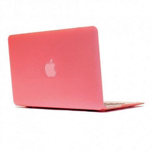 Купить Чехол-накладка BTA-Workshop для Apple MacBook Pro Retina 15 (2012-2015) матовая (прозрачно-розовая)