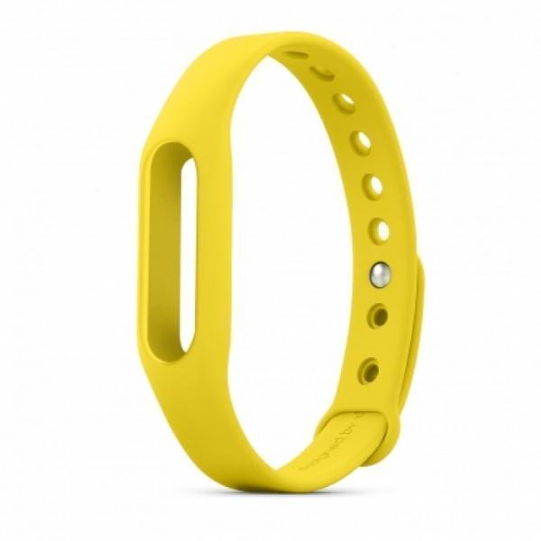 Ремешок силиконовый для фитнес трекера Xiaomi Mi Band 1/1S Pulse (Mi Fit) желтыйРемешки и браслеты для умных часов и фитнес-браслетов Xiaomi<br>Ремешок силиконовый для фитнес трекера Xiaomi Mi Band 1/1S Pulse (Mi Fit) желтый<br>