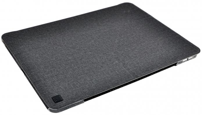 Купить Чехол-книжка Uniq Yorker Kanvas для iPad Pro 11 (2018) пластик/текстиль (черный)
