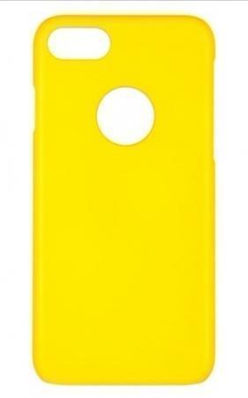Чехол-накладка iCover Rubber для Apple iPhone 7/8 пластиковый матовый желтый (IP7-RF-YL)для iPhone 7/8<br>Чехол-накладка iCover Rubber для Apple iPhone 7/8 пластиковый матовый желтый (IP7-RF-YL)<br>