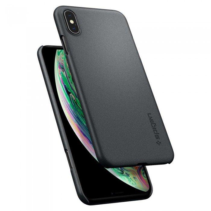 Купить Чехол-накладка Spigen Thin Fit для Apple iPhone Xs Max (Графитовый серый) SGP 065CS24825