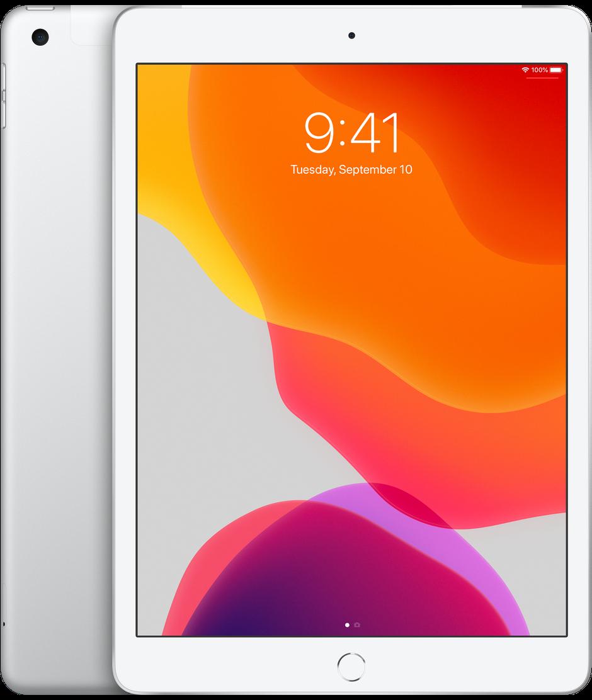 Apple iPad (2019) 128Gb Wi-Fi + Cellular (Silver) (MW6F2RU/A) фото