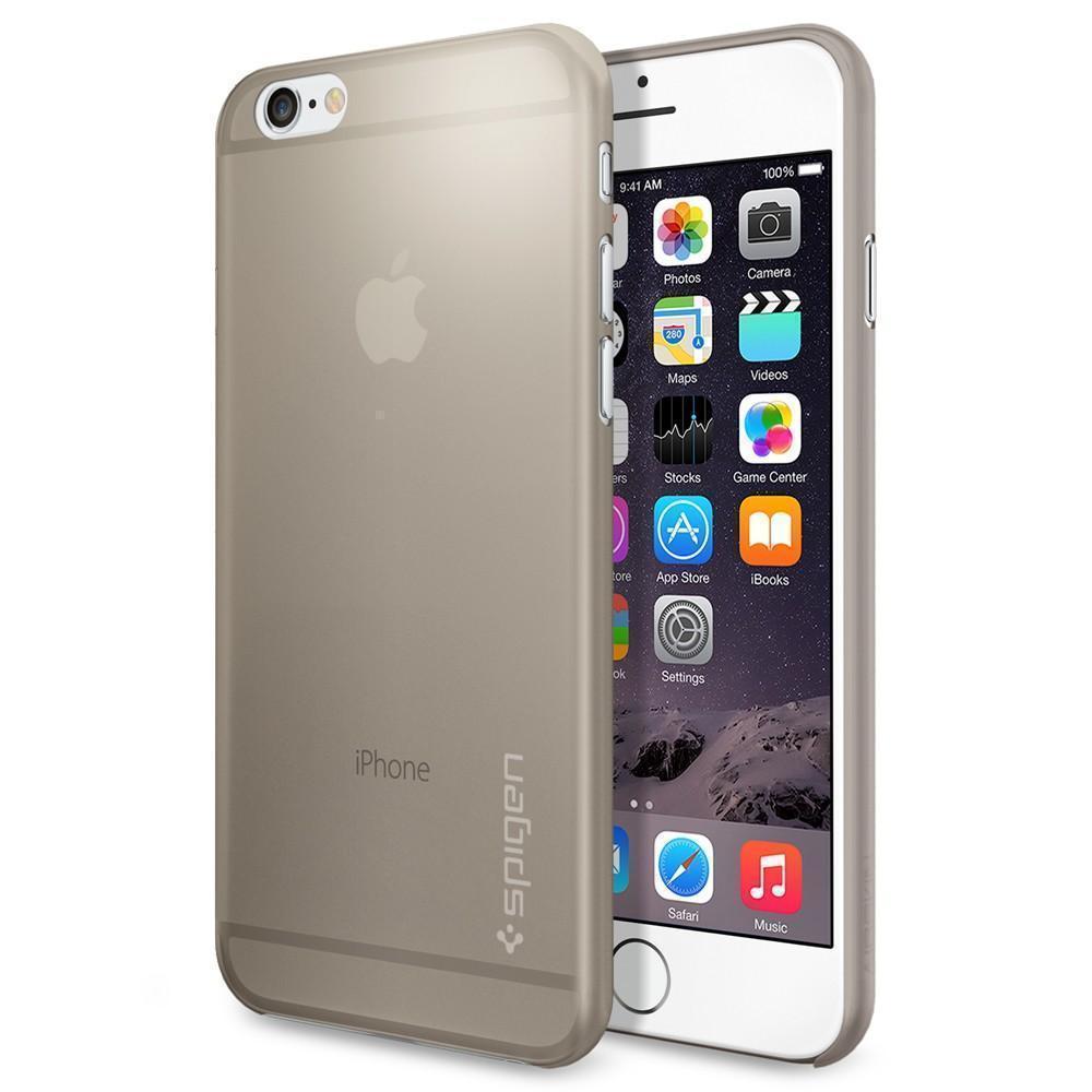 Чехол-накладка Spigen Air Skin для Apple iPhone 6/6S Champagne (SGP11082)для iPhone 6/6S<br>Чехол-накладка Spigen Air Skin для Apple iPhone 6/6S Champagne (SGP11082)<br>