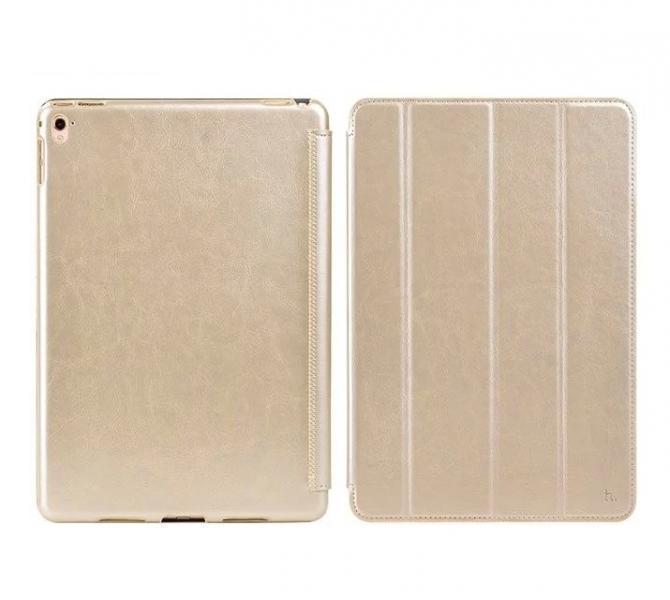 Чехол-книжка Hoco Crystal Series для Apple iPad Pro 9.7 (искусственная кожа с подставкой) золотой